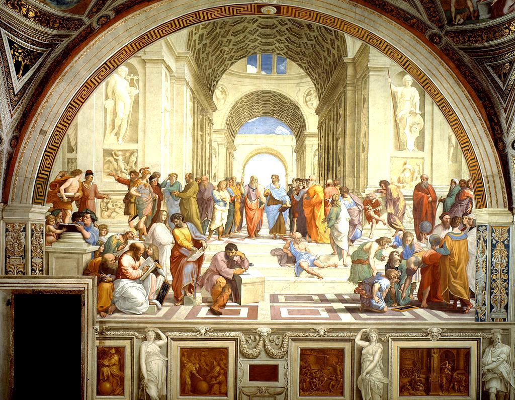 Illustration : École d'Athènes